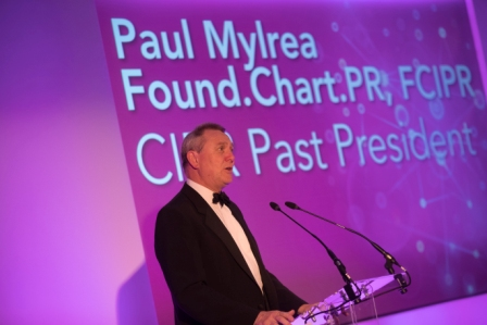 Paul Mylrea speaking at last year's event