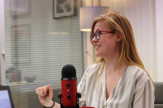 Becky Hall 2019 CIPR EA Mic drop podcast blog public relations comms